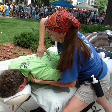 coorporate massage Madison Wi